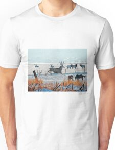 Winter Wildlife Unisex T-Shirt