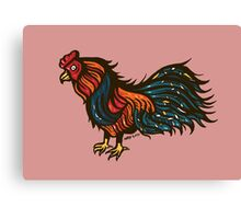 The Fighting Cock Canvas Print