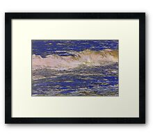 Atlantic Breaker Framed Print