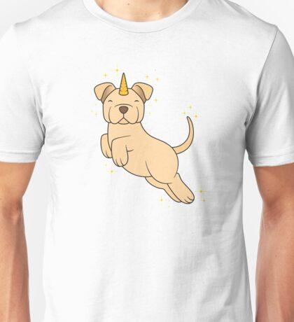 Golden Unidog Unisex T-Shirt