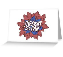 tssf flower Greeting Card