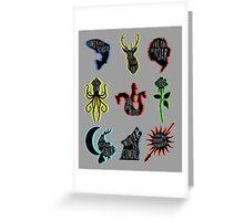 Sigils Greeting Card