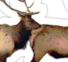 Bull elk 6 Sticker