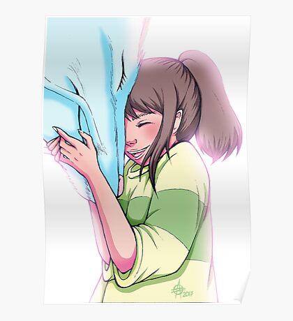 Chihiro and Haku Poster