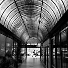 Cathedral Arcade - Melbourne by Norman Repacholi
