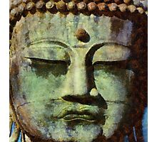 Peaceful Buddha by Sarah Kirk Photographic Print
