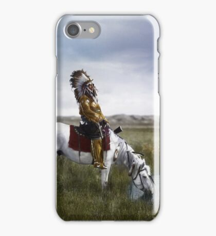 An oasis in the Badlands   iPhone Case/Skin