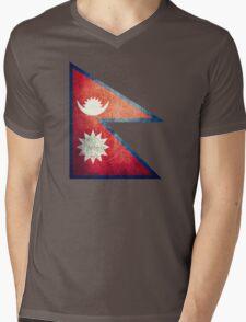 Nepal - Vintage Mens V-Neck T-Shirt