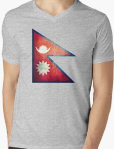 Nepal - Vintage Mens V-Neck T-Shirt