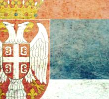 Serbia - Vintage Sticker