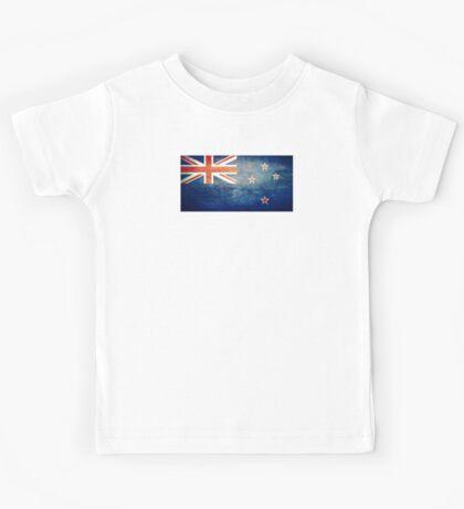 New Zealand - Vintage Kids Tee