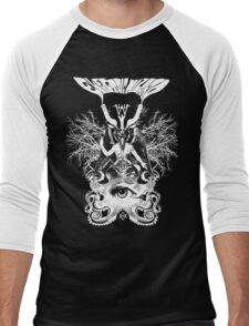 Electric Wizard - Baphomet (White) Men's Baseball ¾ T-Shirt