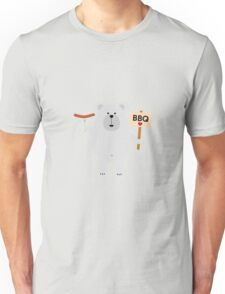Ppolar BBQ Bear with sausage Unisex T-Shirt