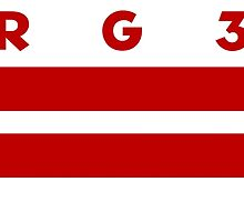 RG3 / D.C. Flag by cbgigot