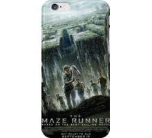 The Maze Runner: Movie Poster iPhone Case/Skin