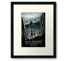 The Maze Runner: Movie Poster Framed Print