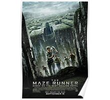 The Maze Runner: Movie Poster Poster
