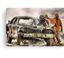 Out of the race Canvas Print
