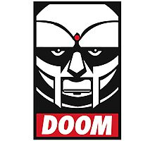 MF DOOM OBEY Photographic Print