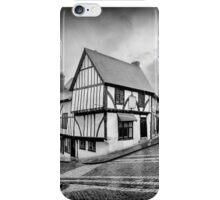 teetering on the edge of history iPhone Case/Skin