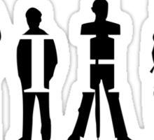 Gotham Silhouettes Sticker