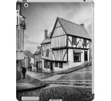 teetering on the edge of history iPad Case/Skin