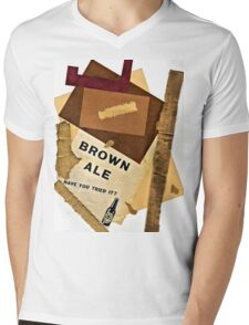 brown ale - have you tried it? Mens V-Neck T-Shirt