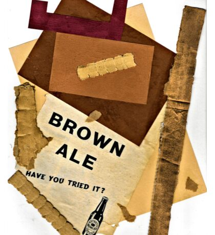 brown ale - have you tried it? Sticker