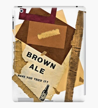 brown ale - have you tried it? iPad Case/Skin