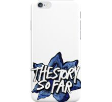 blue tssf flower iPhone Case/Skin