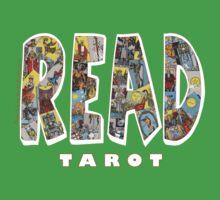 Be Well Read - READ TAROT (Black) Kids Clothes