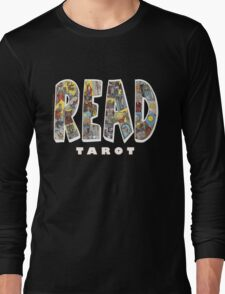 Be Well Read - READ TAROT (Black) Long Sleeve T-Shirt