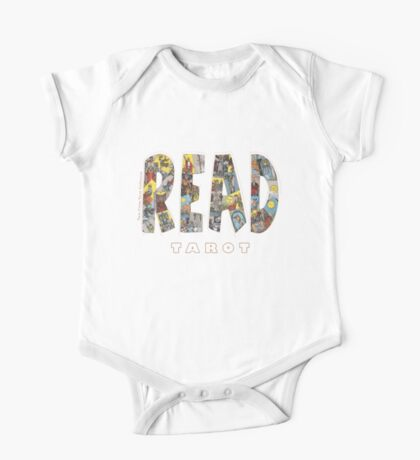 Be Well Read - READ TAROT (Black) One Piece - Short Sleeve