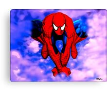 From Spider To Man To Spider Canvas Print