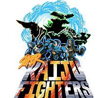 Super Kaiju Fighters by tweedler92