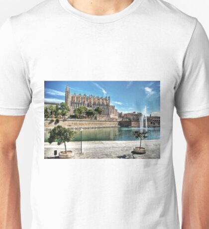La Seu and the Parc de la mar Unisex T-Shirt