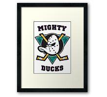 Mighty Ducks Framed Print