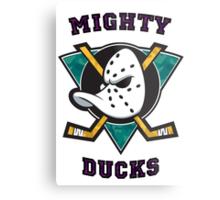 Mighty Ducks Metal Print