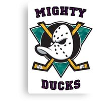 Mighty Ducks Canvas Print