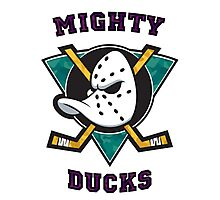 Mighty Ducks Photographic Print