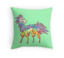 lUXIOGRAm: Solar Throw Pillow