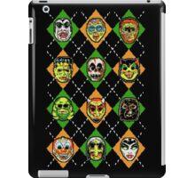 Scary Christmask iPad Case/Skin