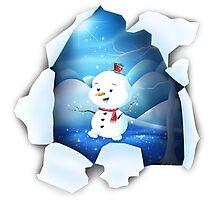 Tear It! ~ Snowbaby Line Photographic Print