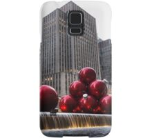 A Christmas Card from New York City - Fifth Avenue Sophistication Samsung Galaxy Case/Skin