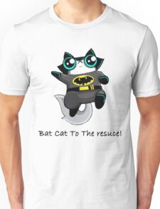 Bat Cat To The Rescue Tshirt  Unisex T-Shirt