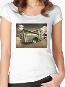 Abandoned 1951 Ford F-1 Women's Fitted Scoop T-Shirt