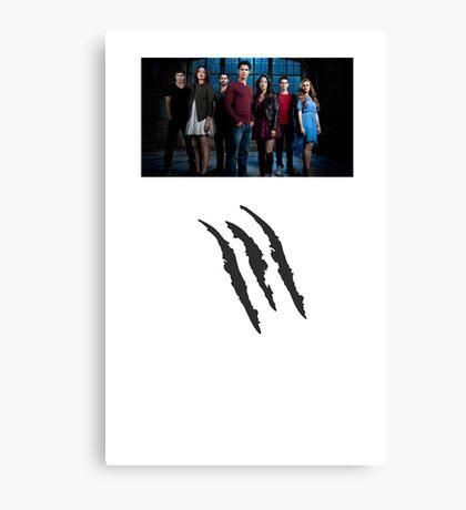 Teen Wolf - Season 6 Canvas Print