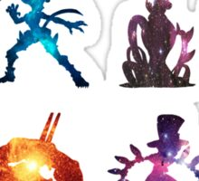 Skullgirls galaxy Sticker