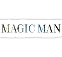 Magic Man--Arch Rock Sticker