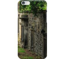 Headstones, The Parish Church of St. Cuthbert, Edinburgh, Scotland iPhone Case/Skin